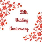 Happy 25th Anniversary Wishes for Mom and Dad