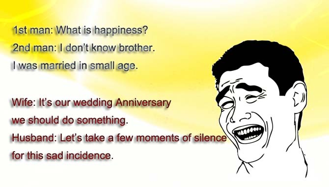 Funny Marriage Anniversary Wishes for Husband