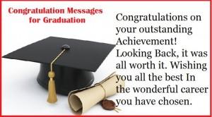 Congratulation Messages for Graduation
