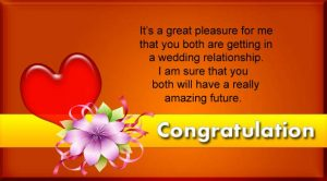 Congratulation Messages for Wedding Anniversary