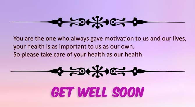 Get Well Soon Dear Boss