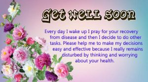 Get well soon messages for friends