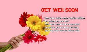 Get well soon wishes for best friends