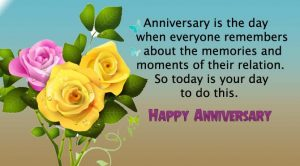 Happy Marriage Anniversary Wishes for Friends