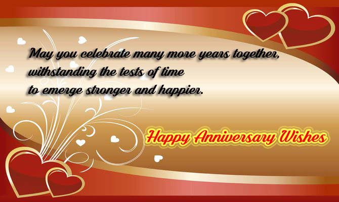 Happy wedding anniversary wishes to a couple » annportal