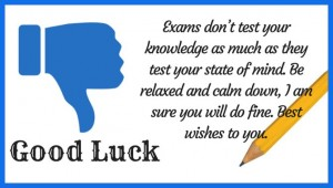 Good Luck Messages for Exams