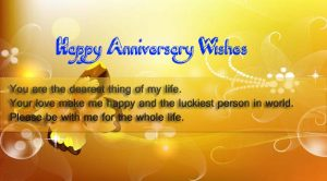 Happy Marriage Anniversary Wishes for wife