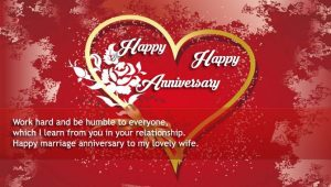 Happy Wedding anniversary to my wife