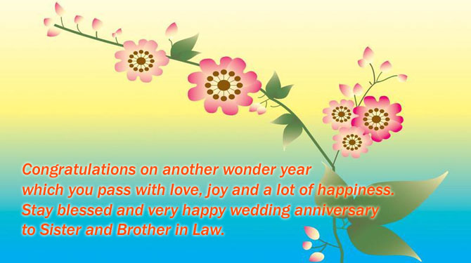 Happy anniversary to sister and brother in law wishes4lover happy anniversary to sister and brother in law m4hsunfo
