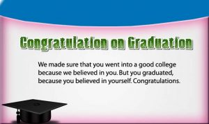 Congratulation on Graduation image