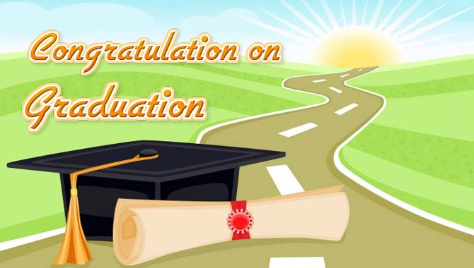 Congratulation wishes for Graduation