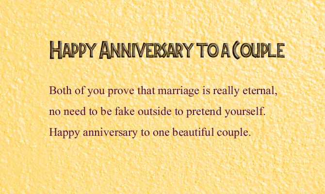 Happy Wedding Anniversary Wishes to a Couple | Wishes4Lover