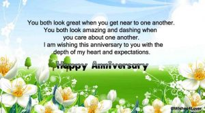 Happy marriage anniversary wishes for Sister and Brother in Law