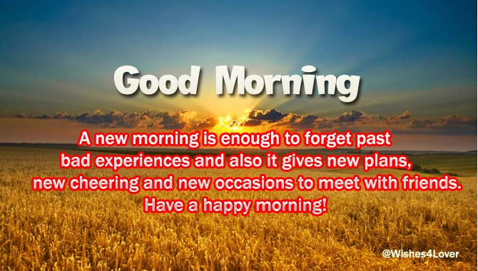 good morning wishes for friends