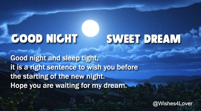 Good Night Messages to my Love