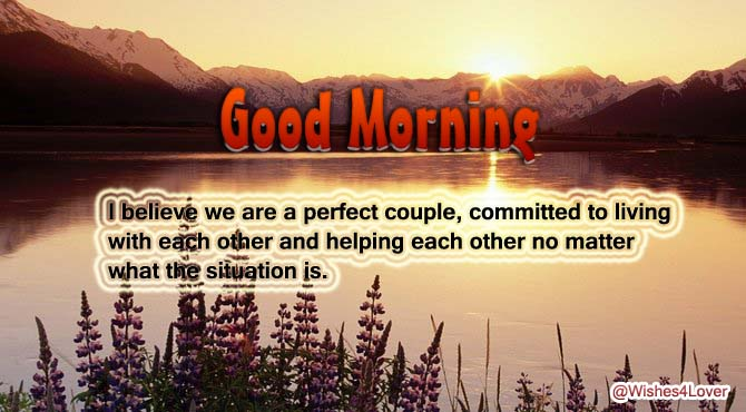 Good Morning Dear Husband